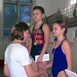 Cоревнования по плаванию среди ребят из коррекционных учреждений Москвы.