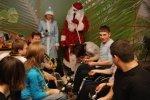 Благотворительный новогодний концерт звезд эстрады в РЦ «Преодоление»