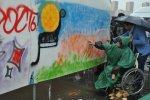 """Участие пациентов РЦ """"Преодоление"""" в фестивале уличной культуры Сникерс Урбания 2010"""